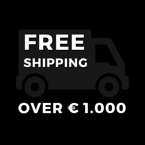 Free Shipping over 1000€